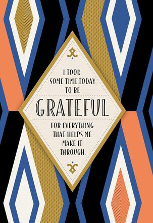 Grateful for the Blessing of You Thank You Card
