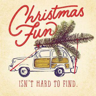 Rockin' Fun Musical Christmas Card,