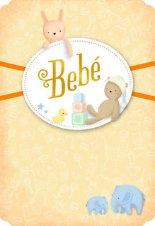 Small Enough to Hold Spanish-Language New Baby Card,