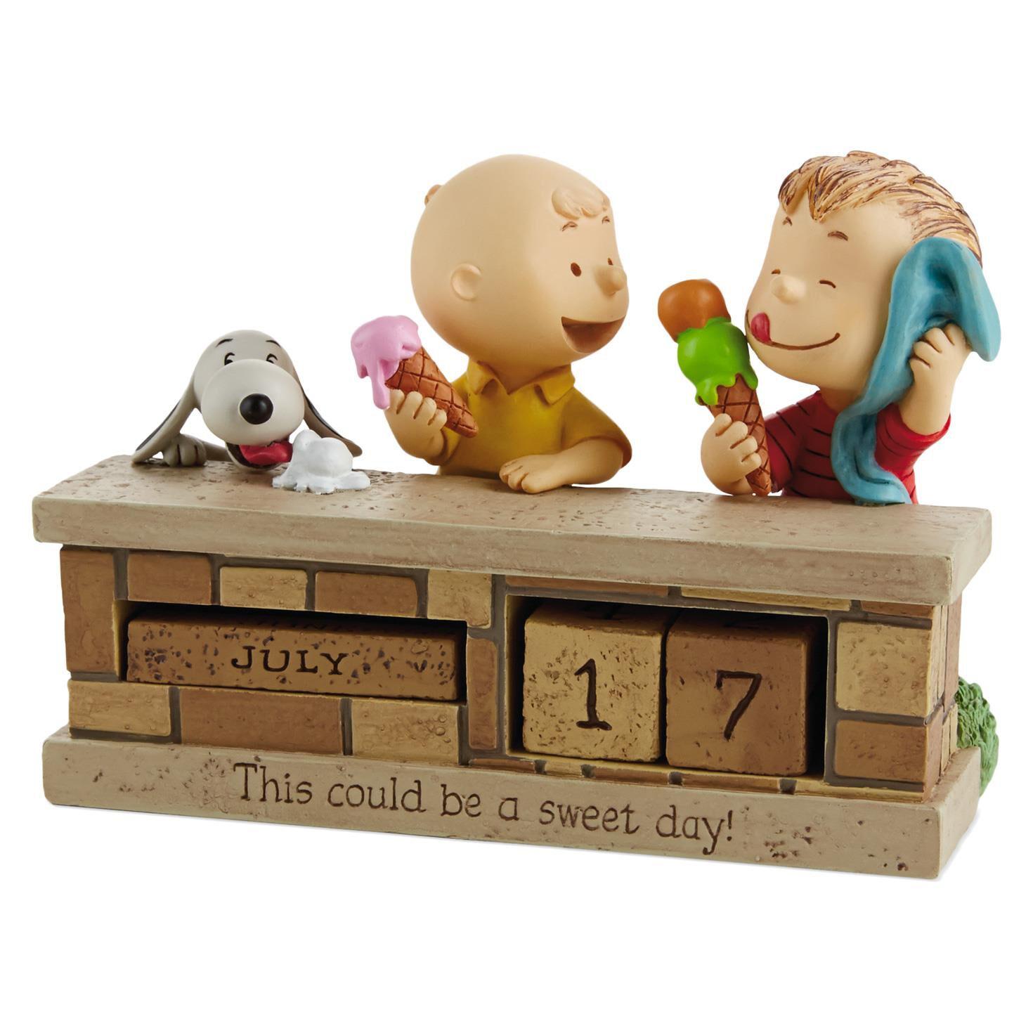 Peanuts® Sweet Day Perpetual Calendar - Calendars - Hallmark
