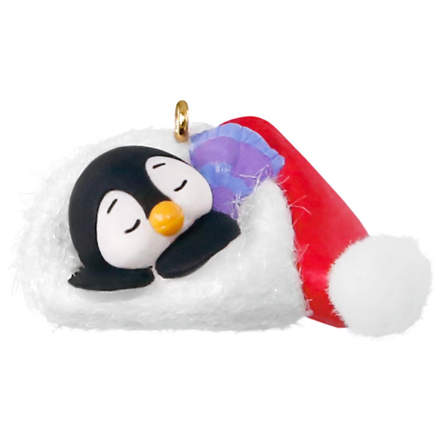 Petite Penguins A Short Snooze Mini Ornament - Keepsake Ornaments ...