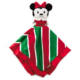 Minnie Mouse Holiday itty bittys® Baby Lovey Blanket, , large