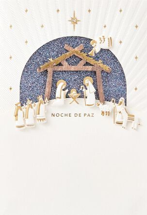 Noche de Paz Spanish-Language Christmas Card