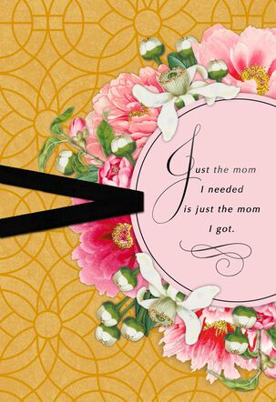 Just the Mom I Needed Mother's Day Card