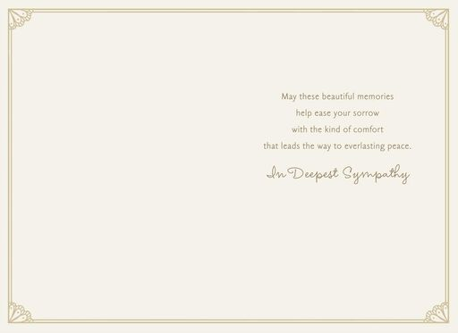Sympathy cards hallmark may you find peace sympathy card altavistaventures Images