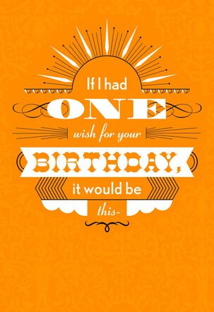 Lottery Win Birthday Wish Funny Birthday Card