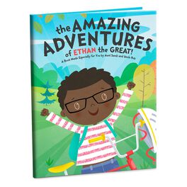 The Amazing Adventures Personalized Book, , large
