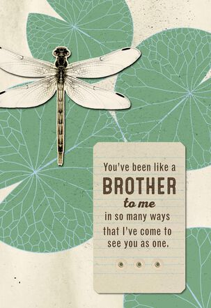 Love You Like a Brother Birthday Card