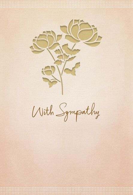 Thoughts and prayers sympathy card greeting cards hallmark thoughts and prayers sympathy card m4hsunfo