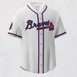 Atlanta Braves™ Jersey Ornament, , large