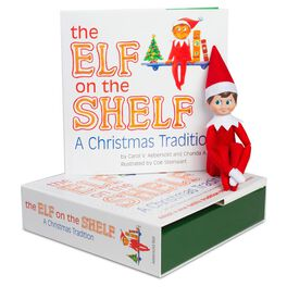 Elf on the Shelf®: A Christmas Tradition Book With Light Skin Tone Boy Elf, , large