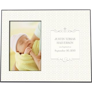 Religious Personalized 4x6 Picture Frame,
