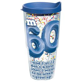 Tervis® 60th Birthday Tumbler, 24 oz., , large