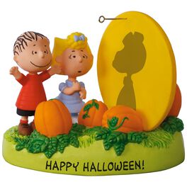 PEANUTS® The Great Pumpkin Rises Sound Ornament With Light, , large