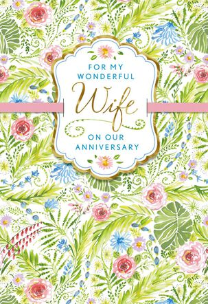 Dena Designs Sweet, Happy Years Anniversary Card for Wife