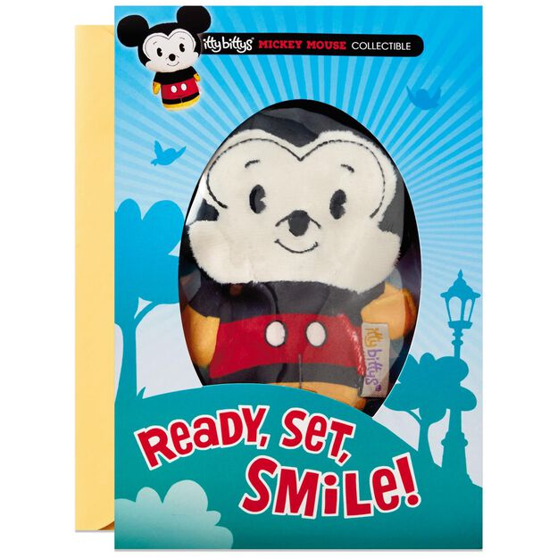 itty bittys Mickey Mouse Birthday Card With Stuffed Animal – Mickey Mouse Birthday Cards