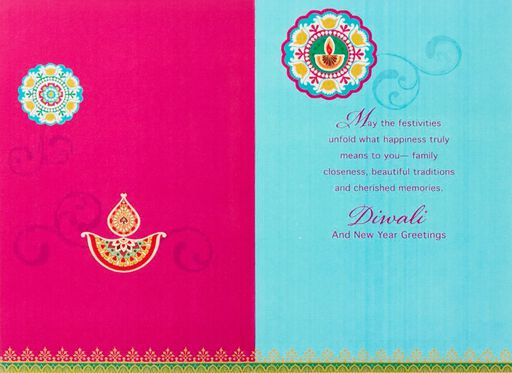 Deepawali Is Here Diwali Cards, Pack of 6,