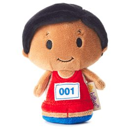 itty bittys® Track African-American Boy LIMITED EDITION Stuffed Animal, , large
