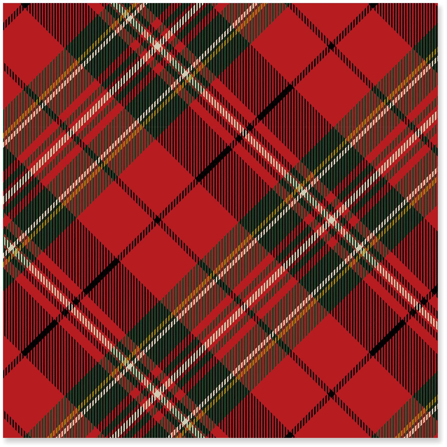 red plaid christmas wrapping paper roll 45 sq ft wrapping paper hallmark