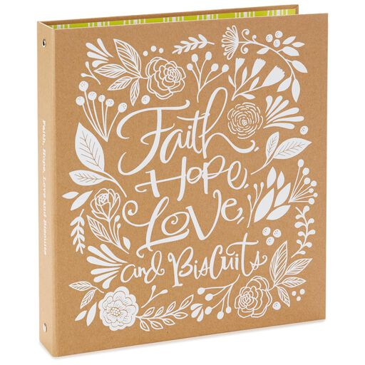 faith hope love and biscuits recipe book