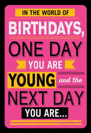 You Are Fabulous Funny Birthday Card
