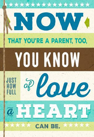 Son Full of Love Father's Day Card