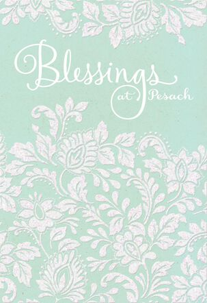 Blessings at Pesach Passover Card