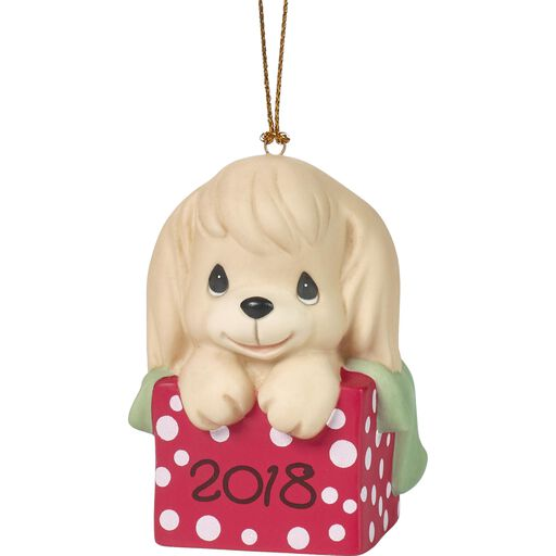 Precious Moments Have a Paw-fect Christmas 2018 Dog Ornament,