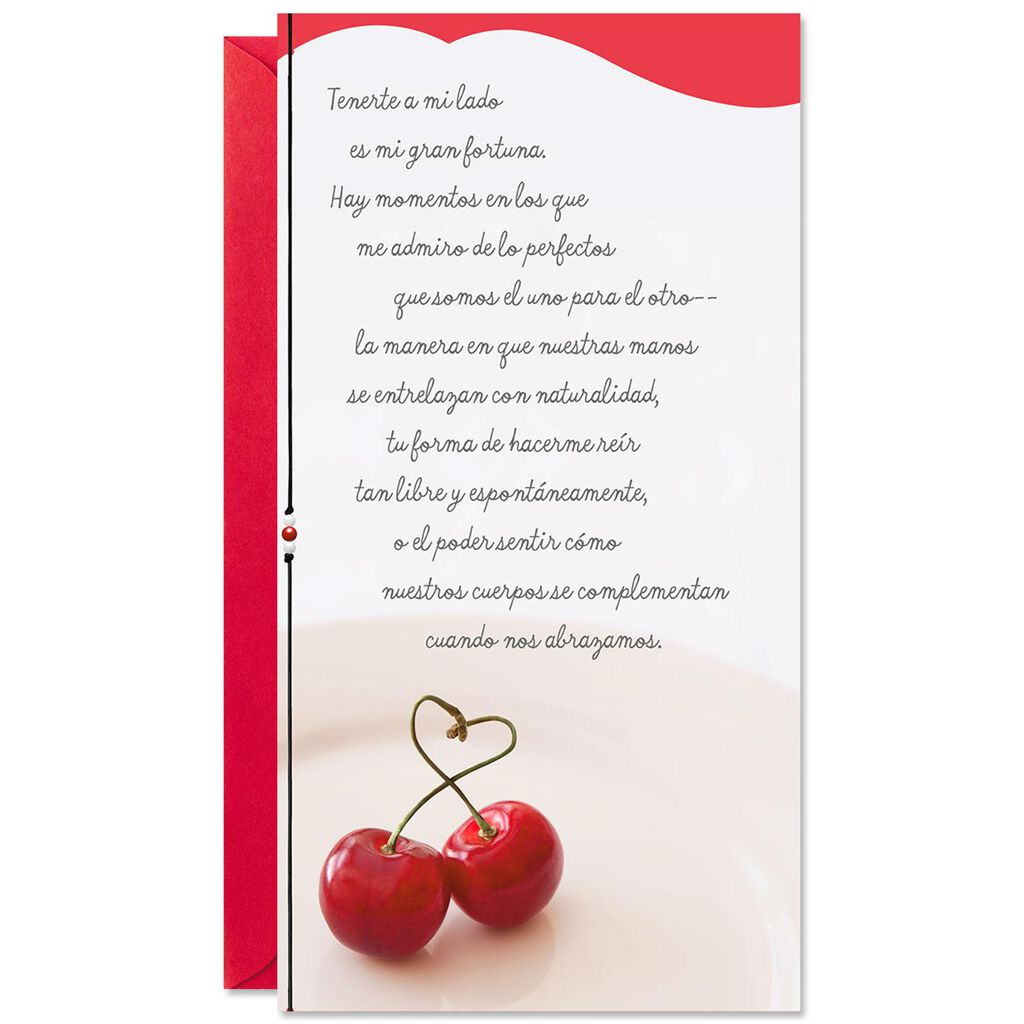 Love The Moment Spanish Language Valentines Day Card Greeting