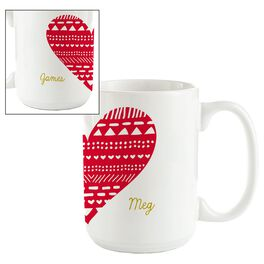 Our Love Personalized Ceramic Mug, , large