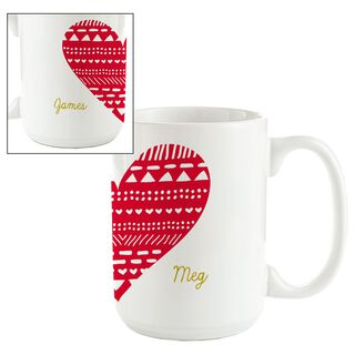 Our Love Personalized Ceramic Mug,