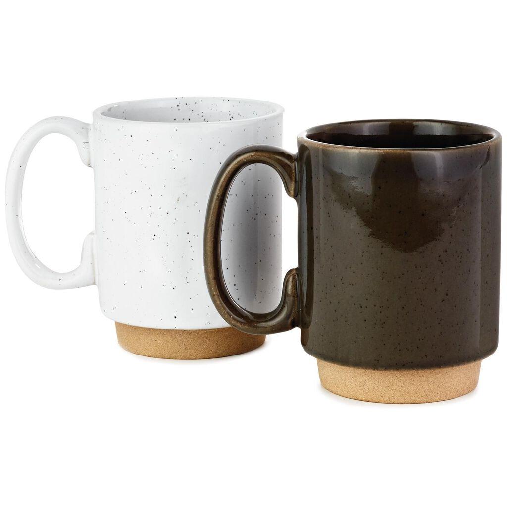 1b40b9259e9 Couples Stacking Coffee Mugs, Set of 2