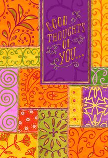 Thoughts of You Across the Miles Friendship Card,