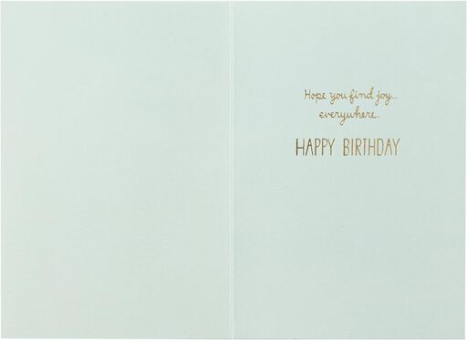 Gather Happy Moments Birthday Card,