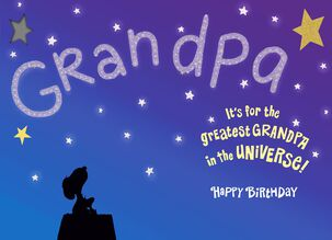 Greatest Grandpa in the Universe