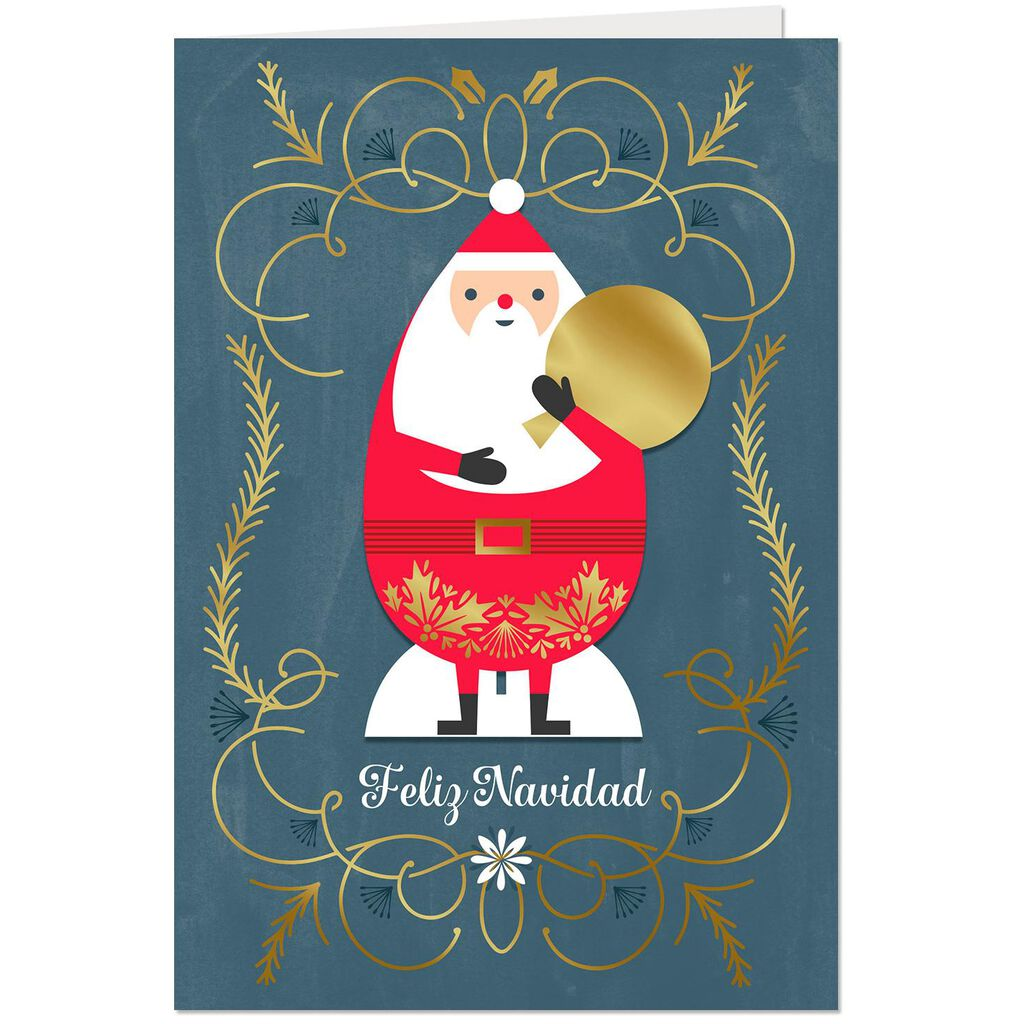 Magical Memories, Wishes and Smiles Spanish-Language Christmas Card ...