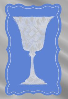 The Cup of Elijah Passover Card,