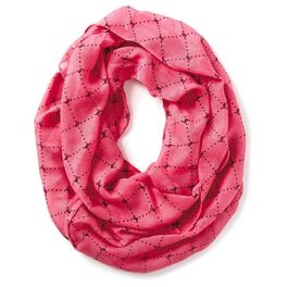 Barbie™ Pink With Black Diamonds Infinity Scarf, , large