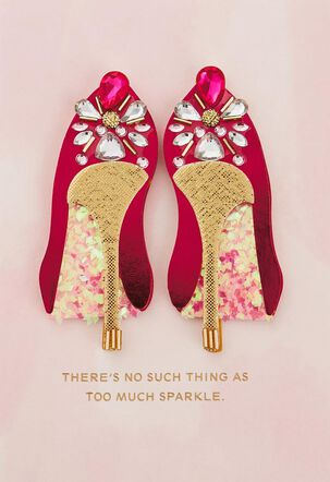 Fabulous Shoes Birthday Card