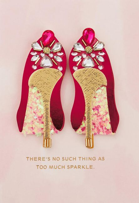 Fabulous Shoes Birthday Card Greeting Cards Hallmark