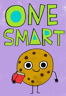 One Smart Cookie Kids Just Because Card,