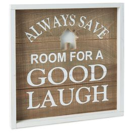 Good Laugh Rustic Wood Sign, , large