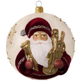 Hopeful Father Christmas Premium Blown Glass Ornament, , large