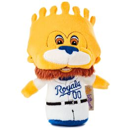 MLB Kansas City Royals™ Mascot itty bittys® Stuffed Animal Special Edition, , large