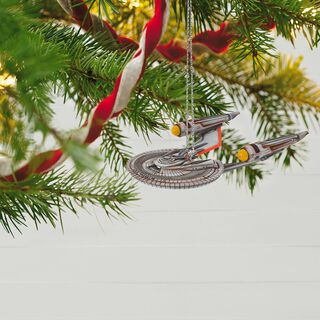 STAR TREK BEYOND™ U.S.S. Franklin™ Ornament With Light,