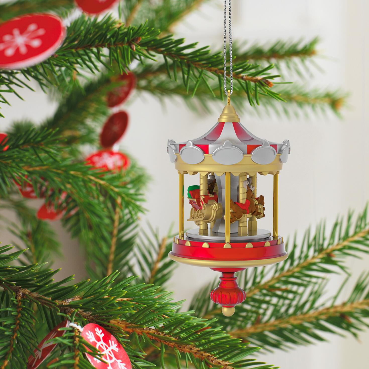 Colorado Christmas Ornaments Part - 46: Christmas Carousel Mini Ornament Christmas Carousel Mini Ornament ...