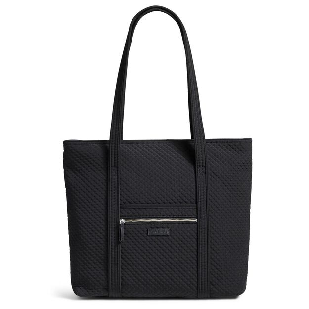 Vera Bradley Iconic Vera Tote Bag in Classic Black - Handbags ...