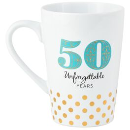50 Unforgettable Years Mug, , large