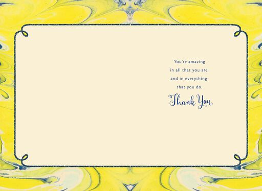 You're Amazing in Every Way Thank You Card,