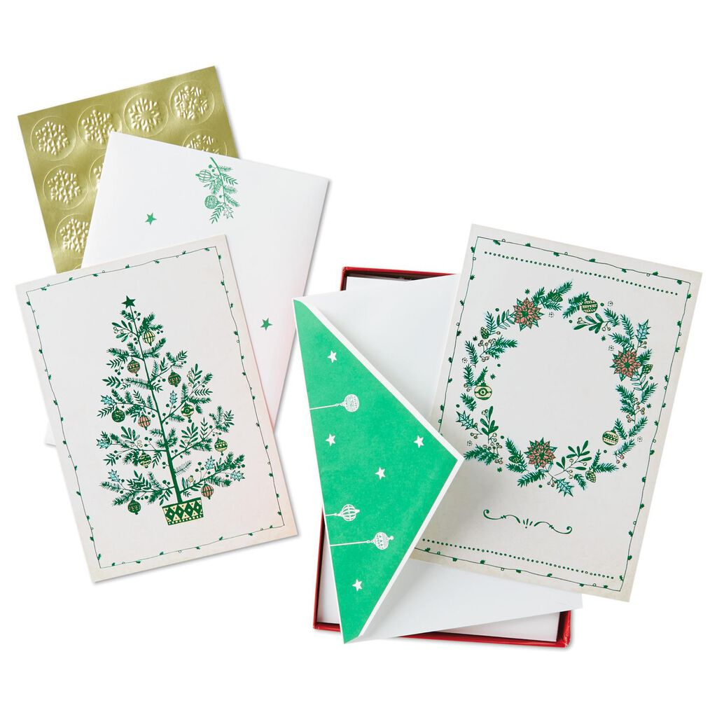 Wonder Of Christmas Assorted Greeting Cards Box 40